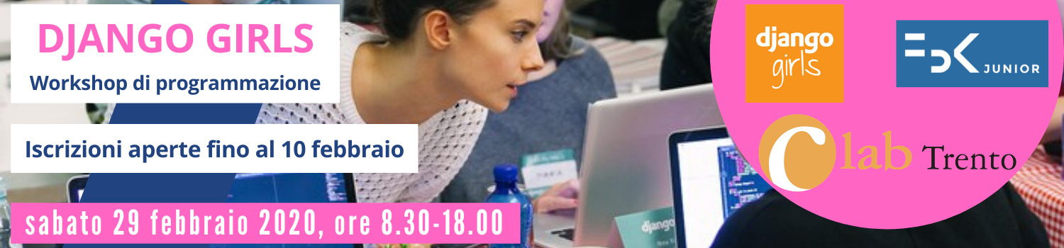 DJANGO GIRLS - WORKSHOP DI PROGRAMMAZIONE